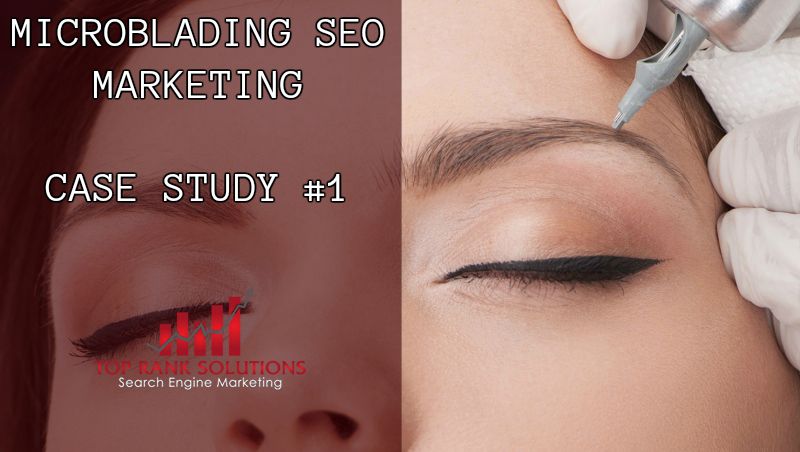 Microblading Marketing 3d Eyebrow Seo Case Study 1 And Results